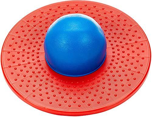 Bola elástica de la placa de salto del tablero del salto de alto elástico para niños,Red blue