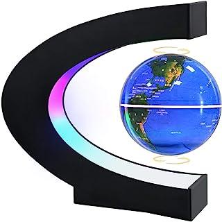 Magnetic Levitating Globe with LED Light, MOKOQI Cool Tech Gift for Men Father Boys, Birthday...
