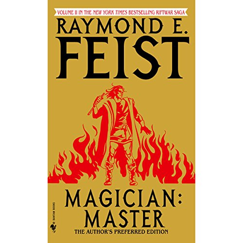 Magician: Master audiobook cover art