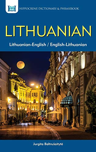 Compare Textbook Prices for Lithuanian-English/English-Lithuanian Dictionary & Phrasebook Revised ed. Edition ISBN 9780781810098 by Jurgita Baltrusaityte