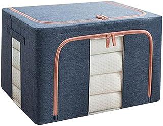 Lpiotyucwh Paniers et Boîtes De Rangement, Sac de rangement de vêtements de capacité, avec couvercle à fermeture à glissiè...