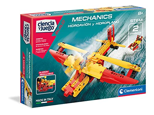 Clementoni Ciencia y Juego 55344 Hidroavión, Bunt