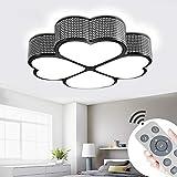 MYHOO 72W LED Plafonnier LED Lampe de Salon Dimmable Plafonnier Design Agréable...