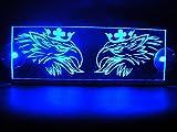 Placa LED Griffin para interior de cabina de 24V; iluminación para camiones Scania (azul)