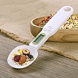 YAeele 500 g / 0.1g Portátil LCD Cocina Digital Escala de medición de la Cuchara gramo de la Cuchara electrónica Peso...