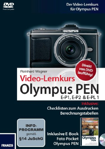 Video-Lernkurs Olympus PEN E-P1, E-P2 & E-PL1