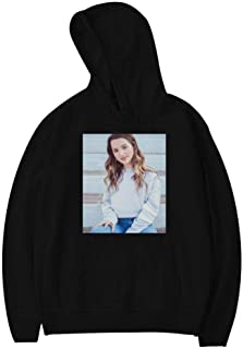 Annie_Leblanc White Moon Fashion Cotton Material Hoodie Sweatshirt for Young People