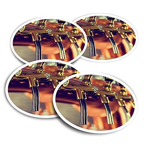 Pegatinas de vinilo (juego de 2) 10 cm – Cerveza Grifos Bar Restaurante Divertido Calcomanías para ordenadores portátiles, tabletas, equipaje, reserva de chatarra #21215