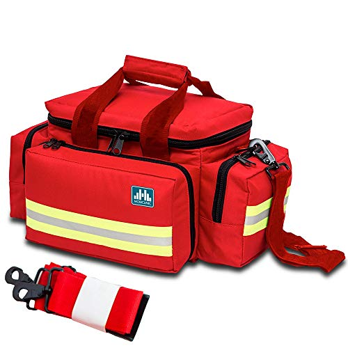 Mobiclinic by Elite Bags, Bolsa ligera para emergencias, Roja 🔥