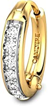 Candere By Kalyan Jewellers Toriana 18k Yellow Gold and Diamond Nosepin for Women