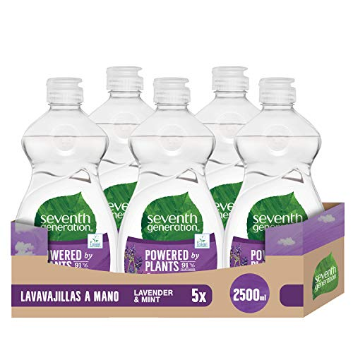 Lavavajillas Liquido 5L Marca Seventh Generation