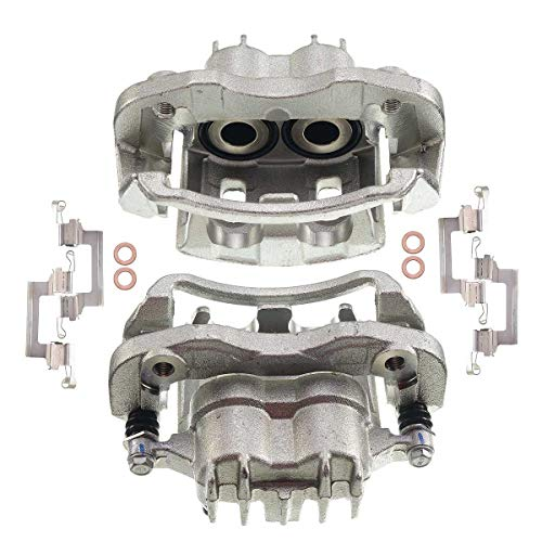 Set of 2 Rear Brake Caliper Assembly for Ford F-250 F-350 Super Duty 2000-2004 Excursion 2000-2005