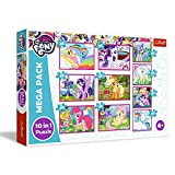 Trefl- Die magische Welt Der Ponys, My Little Pony Von 20 bis 48 Teilen, 10 Sets, für Kinder AB 4 Jahren Puzzle (90353)