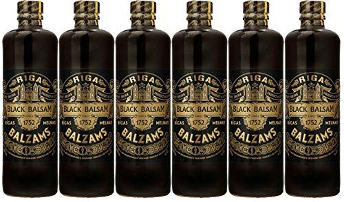 Riga Black Balsam 6er Set (6 x 0,5 L) Rīgas Melnais balzam Sparset