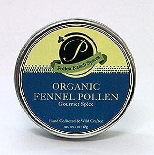 Pollen Ranch | Fennel Pollen | Organic Spice | 28 Gram Tin |1 oz.