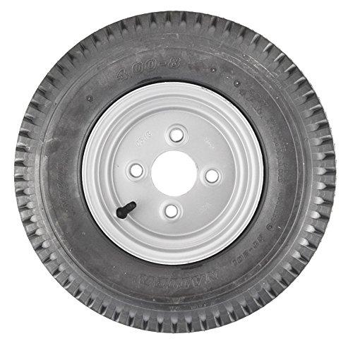 AB Tools Remolque de neumático y llanta de 4 Capas 4.00-8 100mm PCD TRSP16