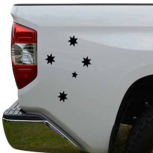 Rosie Decals Southern Cross Stars Australia Die Cut Vinyl Decal Sticker For Car Truck Motorcycle Window Bumper Wall Decor Size- [20 inch/50 cm] Tall Color- Matte White