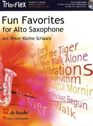 Fun Favorites for 1-3 Alto Saxophones, m. Audio-CD