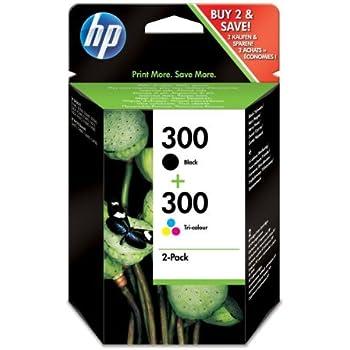 Original de tinta de ahorro-Set HP 300 CN637EE - 2 tintas ...