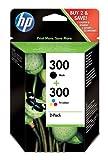 HP Twin Pack Cartouche d'encre HP 300 Noir/Couleur