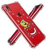 """allsky tpu case for iphone xr 6.1"""",clear cartoon design pattern soft cute fun cool ultra-thin"""