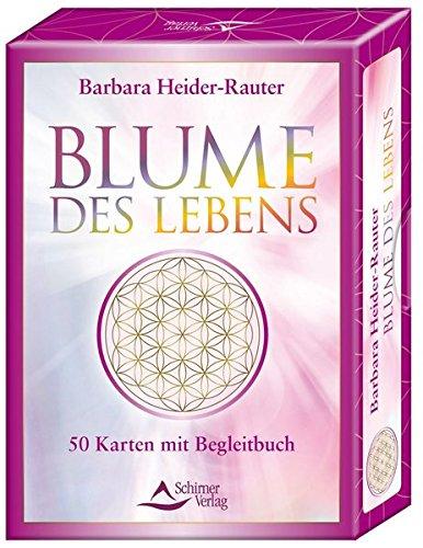 Blume des Lebens: 50 Karten mit Begleitbuch
