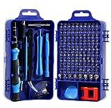Set di cacciaviti 115 in 1 Meccanica di precisione Set di cacciaviti Set di strumenti di riparazione per tecnici elettronici Macchine fotografiche Orologiai Gioiellieri Meccanica