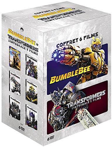Coffret Transformers l'intrégrale des 5 films