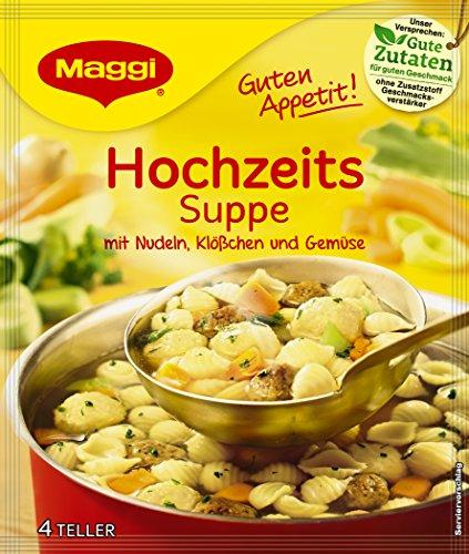 Maggi Guten Appetit Suppe Hochzeits, 20er Pack (20 x 55 g)