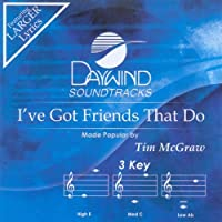 I've Got Friends That Do [Accompaniment/Performance Track] by Made Popular By: Tim McGraw