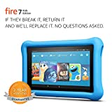 "Up to $129 in savings on Fire 7 tablet, 1 year of Amazon FreeTime Unlimited, and a Kid-Proof Case, versus items purchased separately ? plus a 2-year worry-free guarantee Not a toy, a full-featured Fire 7 tablet with a 7"" IPS display, 16 GB internal s..."