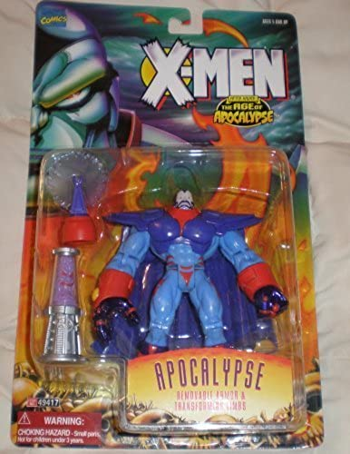 X-Men The Age of Apocalypse After Xavier Apocalypse Figure with Removable Armor and Transforming Limbs by Toy Biz