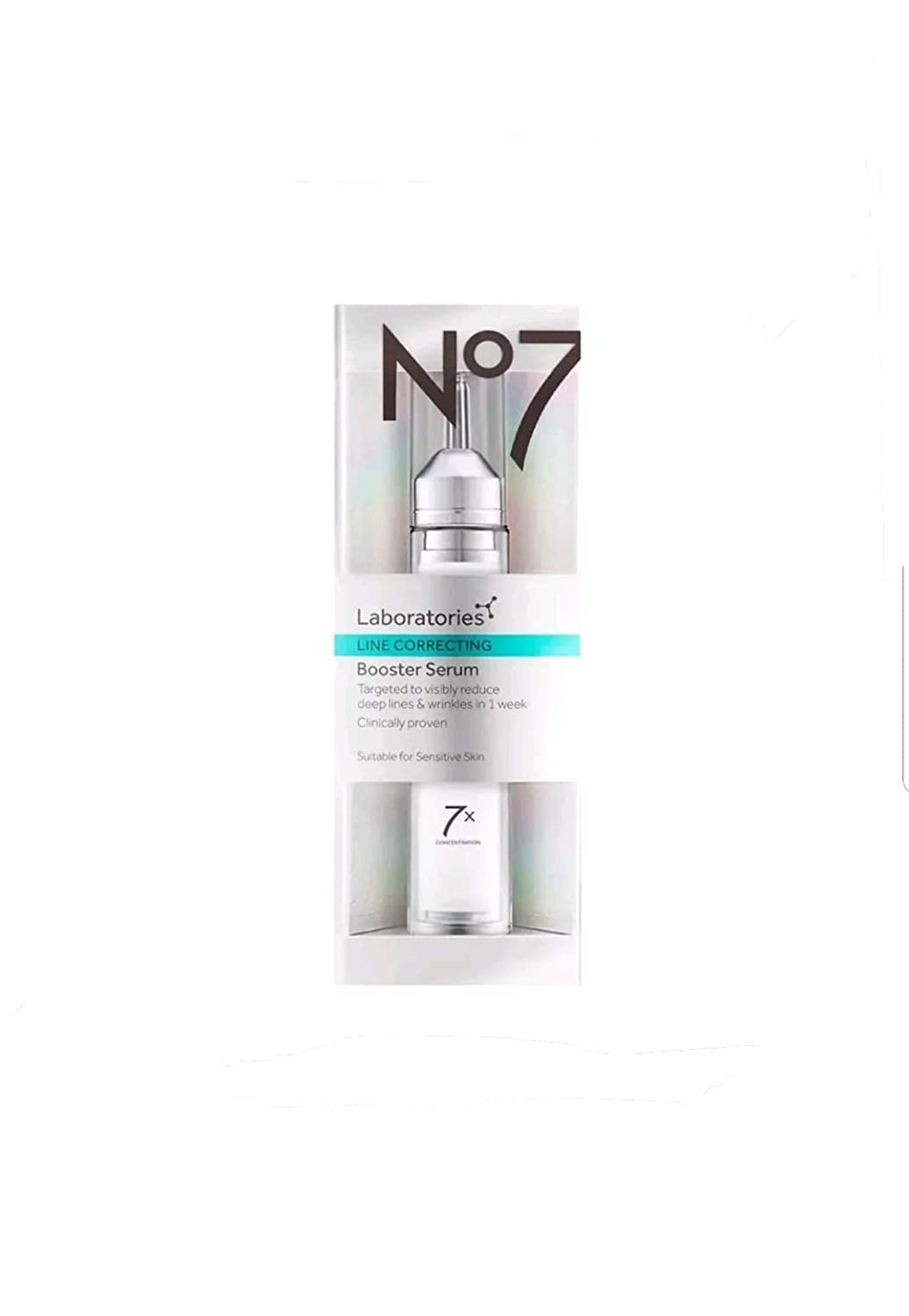 Amazon Com No7 Laboratories Line Correcting Booster Serum 15ml Health Personal Care
