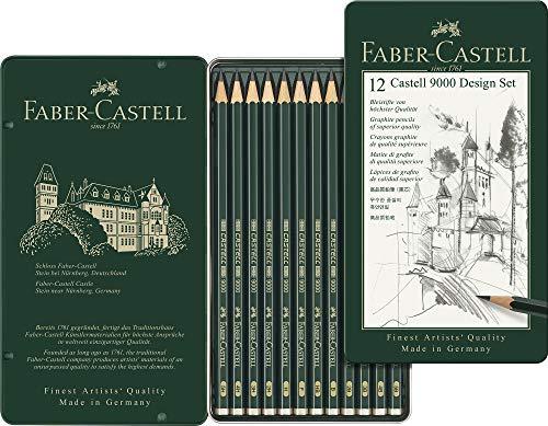 ファーバーカステル 9000番鉛筆デザインセット 119064 [日本正規品]