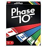 Mattel Games FPW38 - Phase 10 Kartenspiel und Gesellschaftspiel geeignet für 2 - 6 Spieler, Gesellschaftsspiele und Kartenspiele ab 7 Jahren