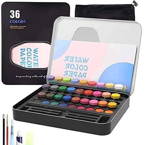 acuarelas 16 colores fabricante CHEELOM