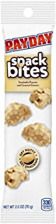 PAYDAY Peanut Caramel Snack Bites, 2.5 Ounce (Pack of 10)