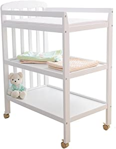 Changing Table GUO  Crib Baby  Solid wood baby care desk  Wheel Portable Multifunction Baby shower stand  About load Nursery Furniture