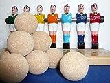 11 balle de baby foot liéges brutes BONZINI