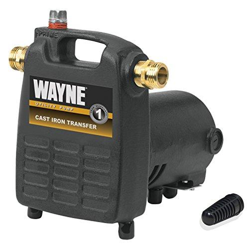 WAYNE PC4 1/2 HP Cast Iron Multi-Purpose Pump With Suction Strainer, Model:55832