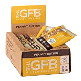 The GFB Gluten Free Protein Bars, Peanut Butter, 2.05 Ounce (Pack of 12), Vegan, Dairy Free, Non...