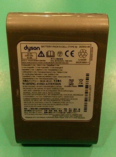 Original-Akku für Staubsauger Dyson DC45 SV / DC 43 H, 22,2 V, 2.000 mAh, Typ B 967861-04, Schraubenbefestigung