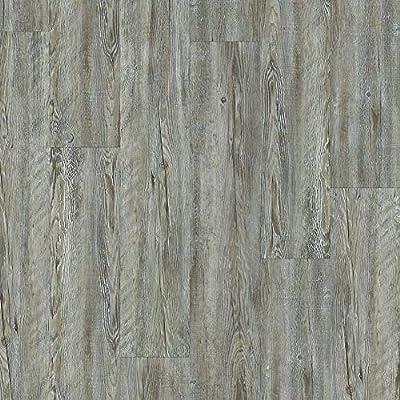 Floorté Pro Impact Vinyl Flooring, Weathered Barnboard (27.74 sqft)