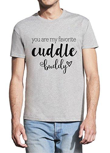 BlackMeow je bent mijn favoriete knuffel Buddy mannen wit T-shirt