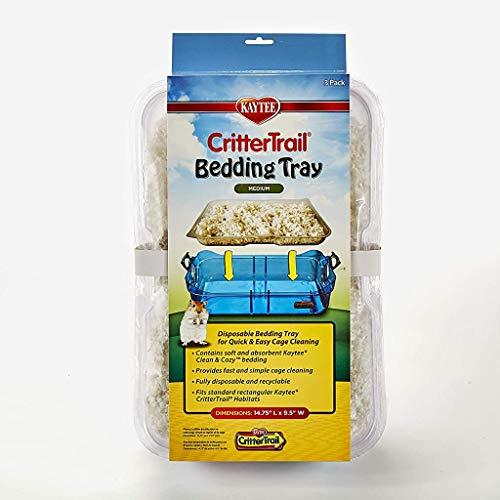 Kaytee Critter Trail Bedding Tray Habitat - 3 /Pack