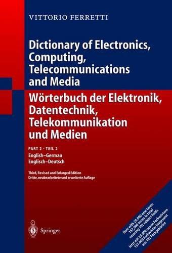 Wörterbuch der Elektronik, Datentechnik, Telekommunikation und...