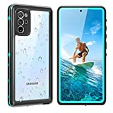 Galaxy Note 20 Waterproof Case 5G, Shockproof Shatterproof Note 20 Case with Screen Protector, 360 Protective Full Body Shell Underwater Cover for Samsung Galaxy Note 20 (6.7',2020 Blue)