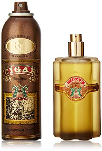 Remy Latour Cigar 2 Piece Gift Set for Men (Eau de Toilette Spray, Deodorant Spray)