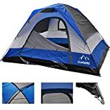 CAMPMORE Dome Family Tent for Camping, 8 Person Outdoor Camping Tent Durable, Waterproof and Easy Assembly- 10 x 12 Feet