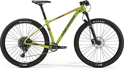 Bicicleta de montaña Merida Big.Nine NX-Edition, color verde y rojo, 2019 RH, 43 cm / 29 pulgadas